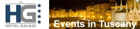 events in tuscany reachable from Galilei Hotel