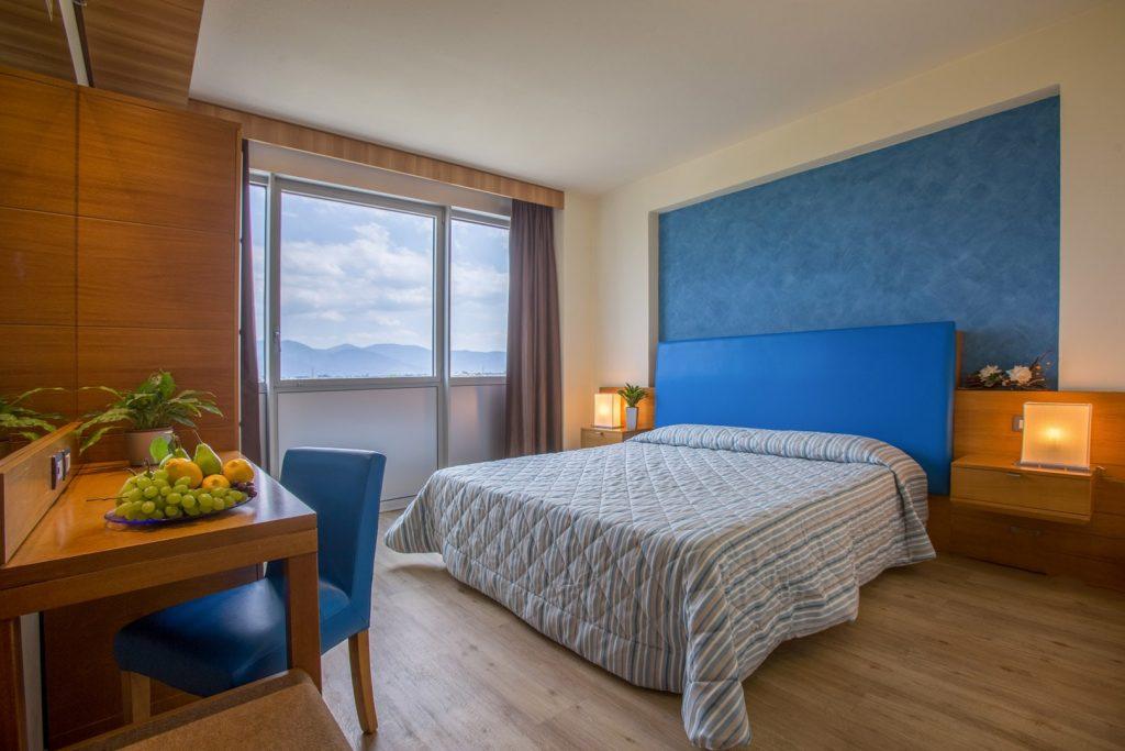 Pisa Hotel Galilei, camera matrimoniale con vista